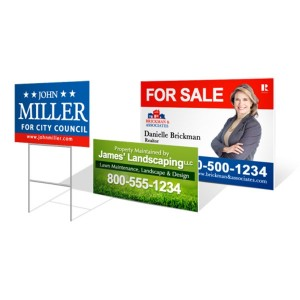 "Yard Signs 18"" x 24"" Special"